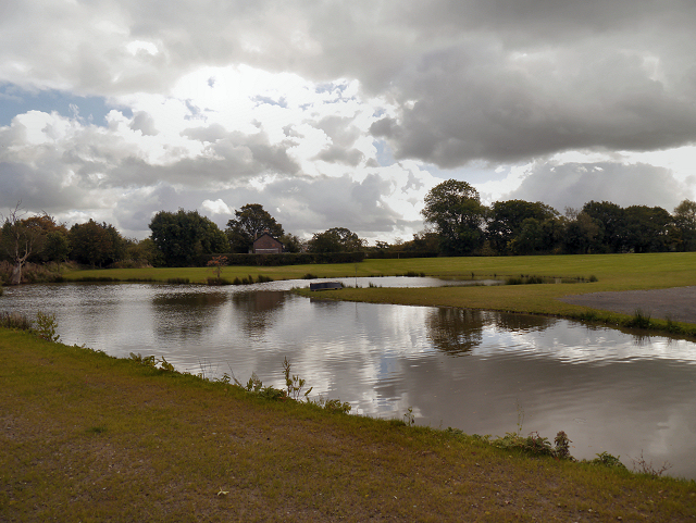 Pond at the side of Prestbury Road