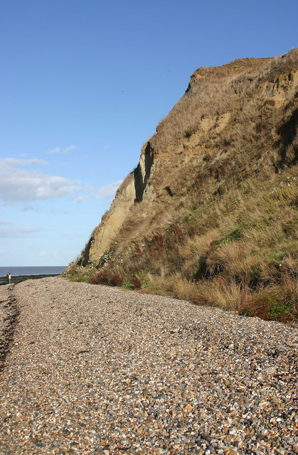 Headland near Bishopstone Glen