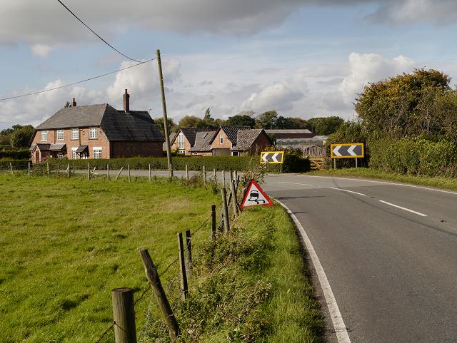 Lees Lane (A5358) Mottram St Andrew
