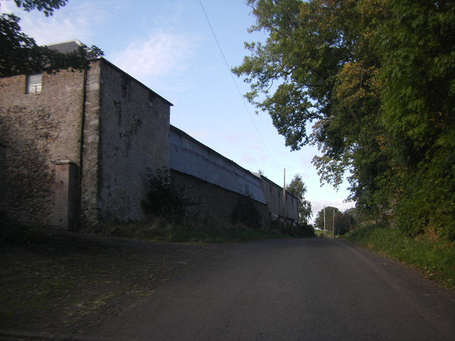 Farm buildings at Gateshaw