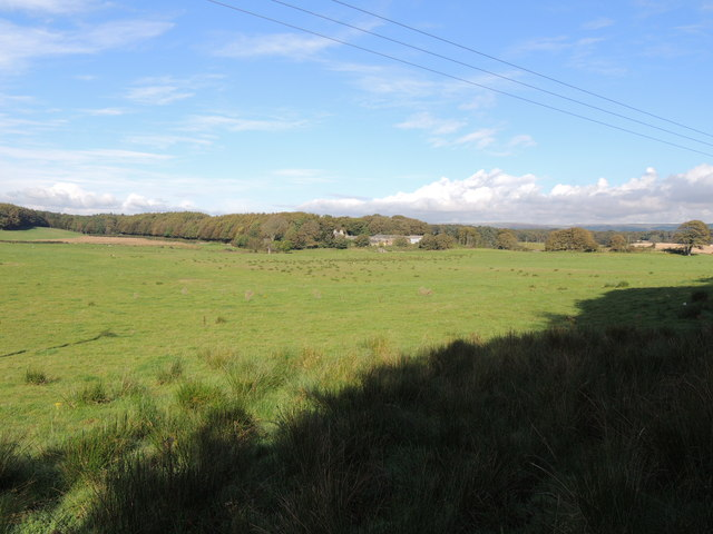 Farmland at Culhorn Mains
