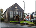 SN8746 : Former Congregational Chapel, Llanwrtyd Wells  by John Grayson
