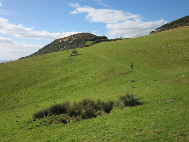 Coast path to Golden Cap