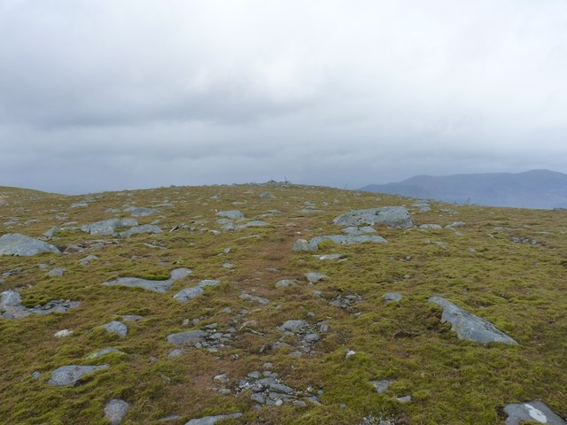 Meall Garbh - summit plateau area