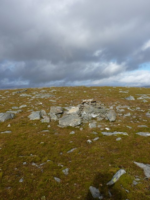 One of the claimants to the former summit of the hill