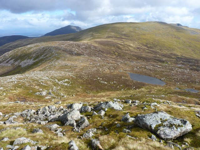 The east ridge of Meall Garbh