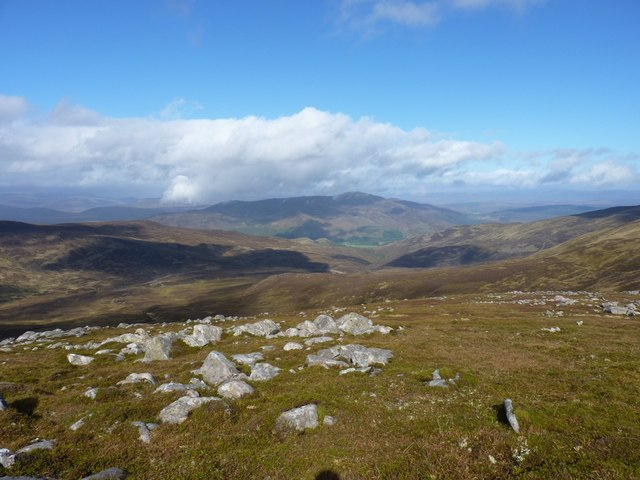 High above Coire na h-Iarraidh