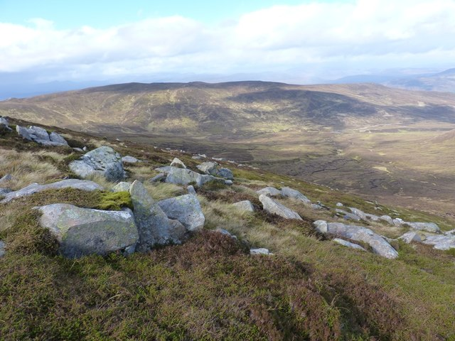 Northern slopes of Meall Garbh