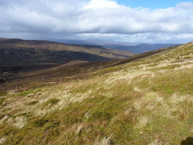 The western side of Craig an Daimh