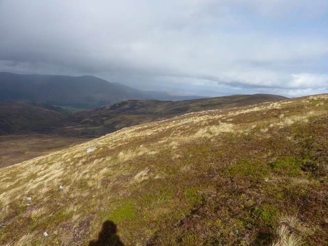 Looking down Craig an Daimh