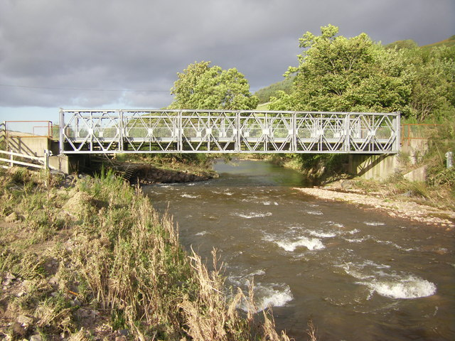 Bridge over Bowmont Water, Heyhope