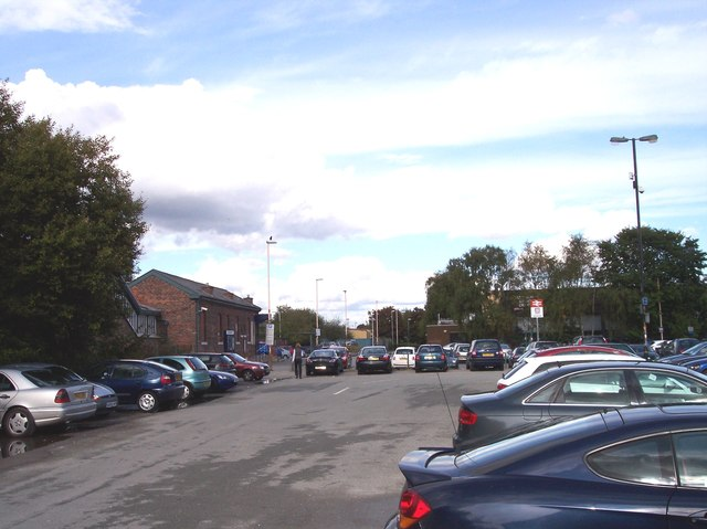 Altrincham station car park