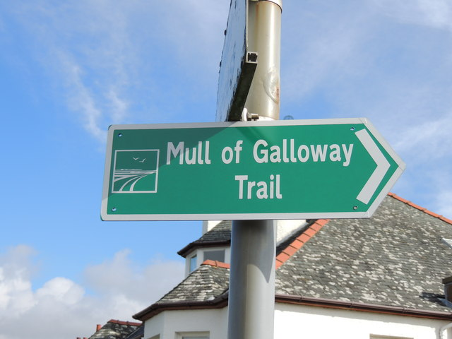 Mull of Galloway Trail Sign