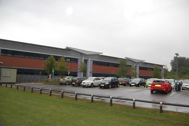 Car park, Withington Community Hospital