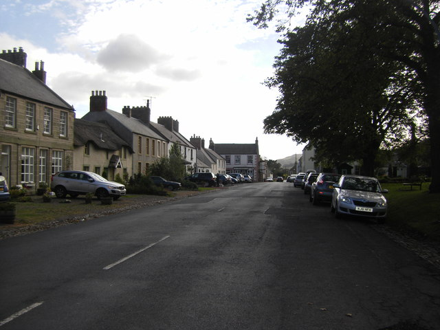 Town Yetholm High Street