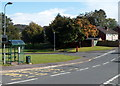 ST3091 : Rowan Way bus stop and shelter, Malpas, Newport by John Grayson