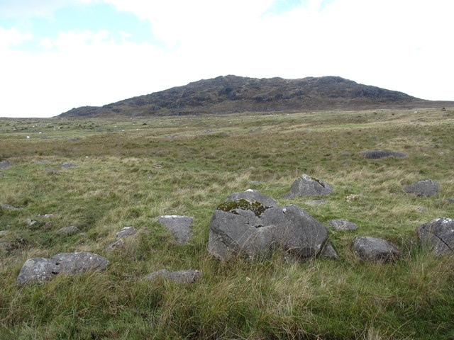 Upland grazings on the west side of Slieve Foye from the Tain Way