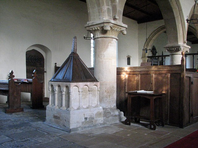 Brooke: St Peter - interior