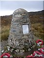 NR5908 : Chinook Helicopter Memorial, Mull of Kintyre by Becky Williamson