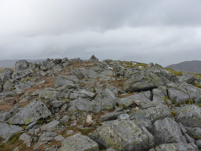 A small cairn at 1001m