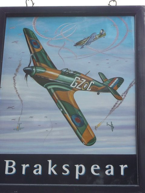 Battle of Britain Pub Sign (2)