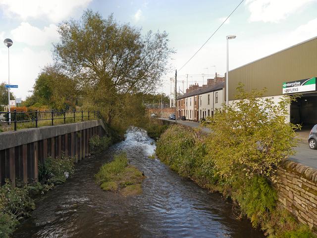 River Bollin, Macclesfield