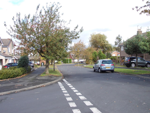 Birkdale Drive - viewed from Sunningdale Drive
