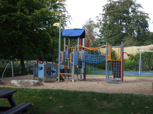 Children's playground, Sewerby Hall