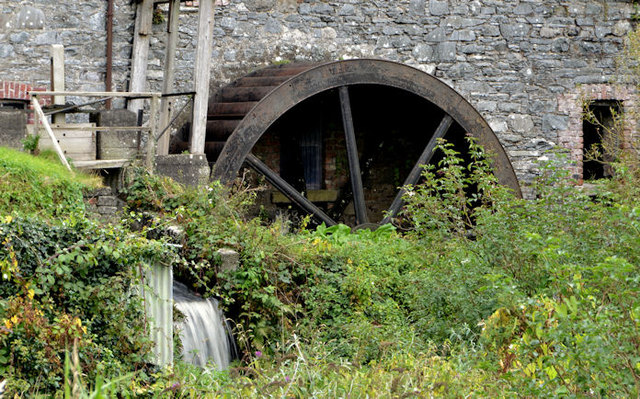 Water wheel, Ballynahinch