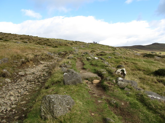 Eroded section of the Tain Way