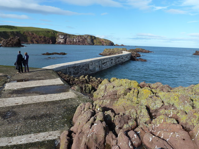 Breakwater, St Abbs Harbour
