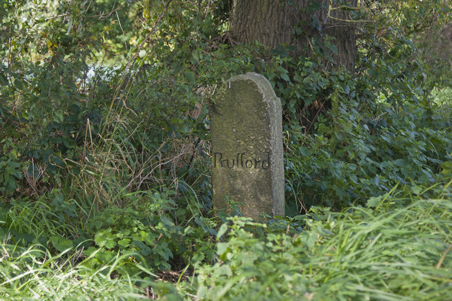 """""""Rufford"""" - an unexpected marker stone"""
