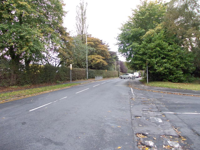 Nursery Lane - viewed from Birkdale Drive