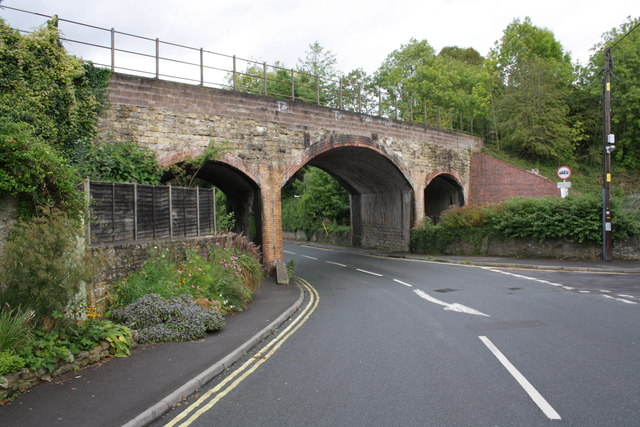 Railway bridge 126.54 over the A359