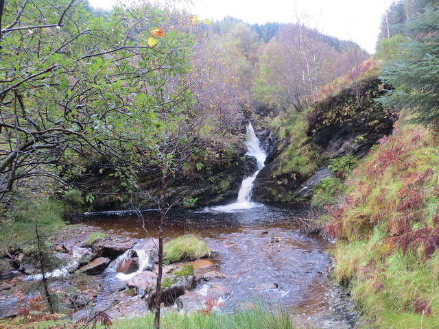 Waterfall on the Criogan Burn