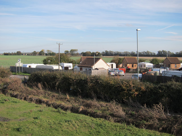Earith Bridge travellers' site
