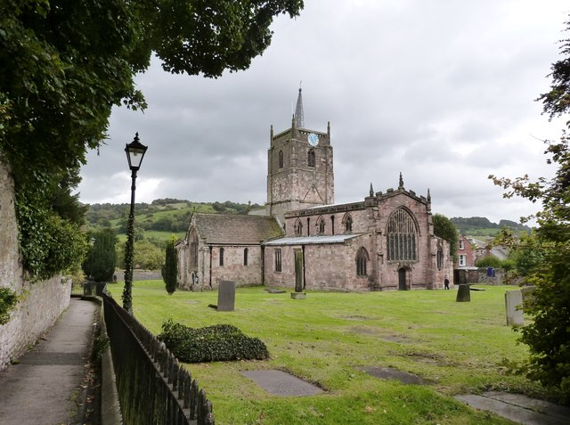 St. Mary's church, Wirksworth, Derbyshire