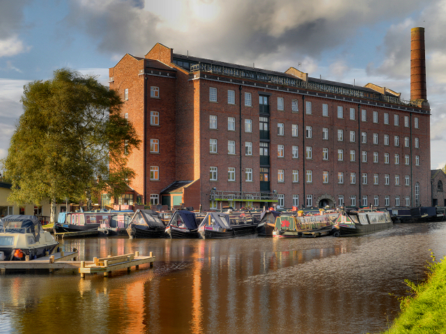 Hovis Mill, Macclesfield Canal