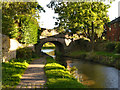 SJ9273 : Macclesfield Canal, Bridge#38 (Black Road) by David Dixon