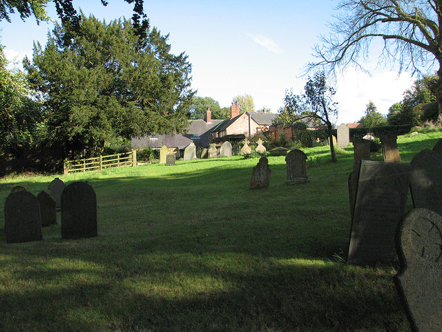 In Owston churchyard