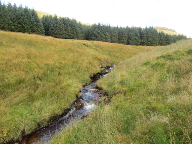 Leavanin Burn below Bealach an Lochain