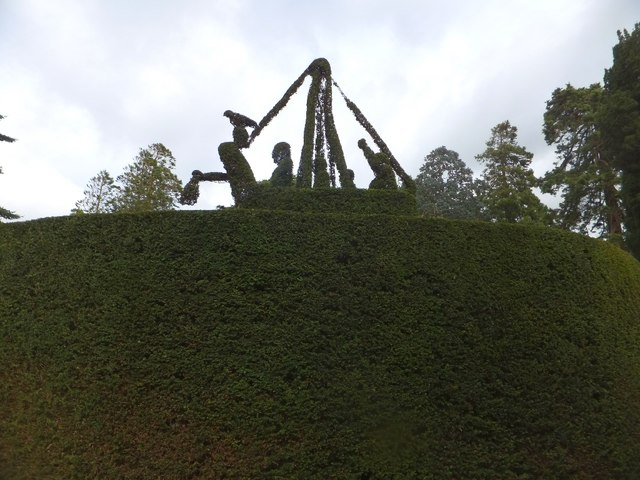 Topiary at Mount Stewart