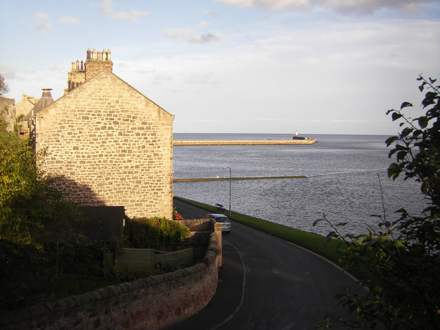 Pier Road and Berwick Pier