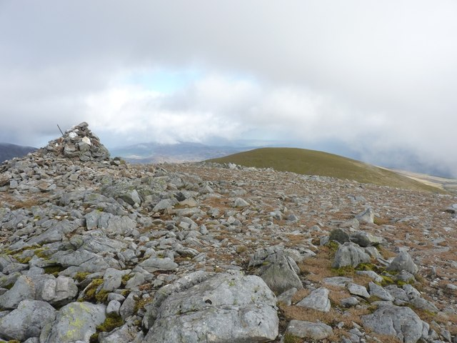 Carn Mairg summit cairn
