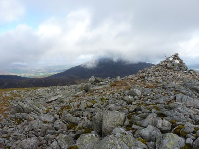 Towards Schiehallion from Carn Mairg