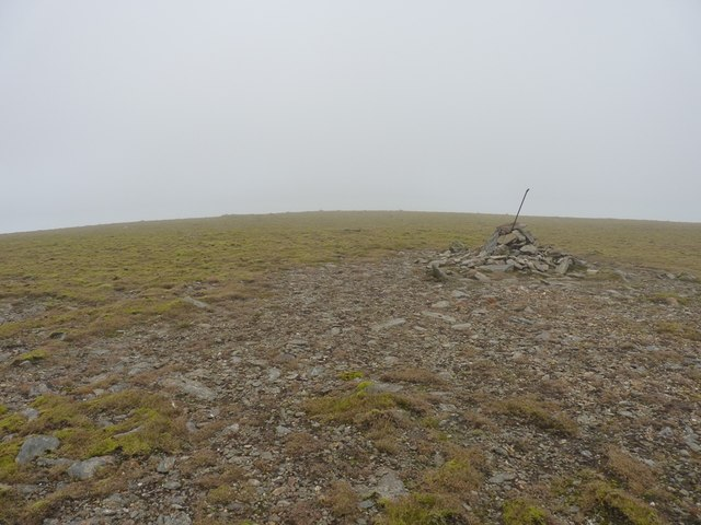 Caught in a cloud on Meall Liath