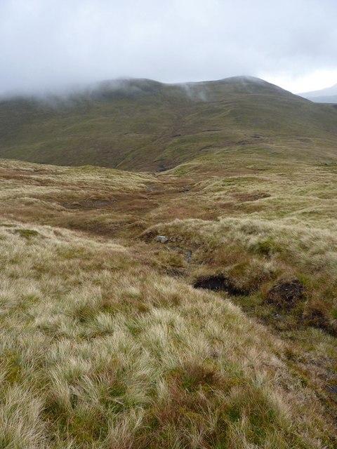 The upper reaches of the Allt Odhar