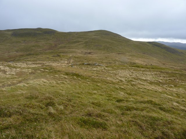 South to Meall na Aighean