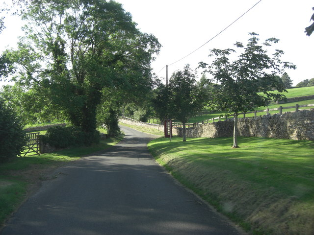 Unnamed Lane north of Pindrup Farm