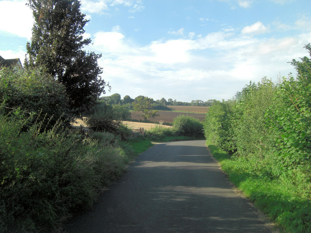 Unnamed Lane north of Fosse Bridge